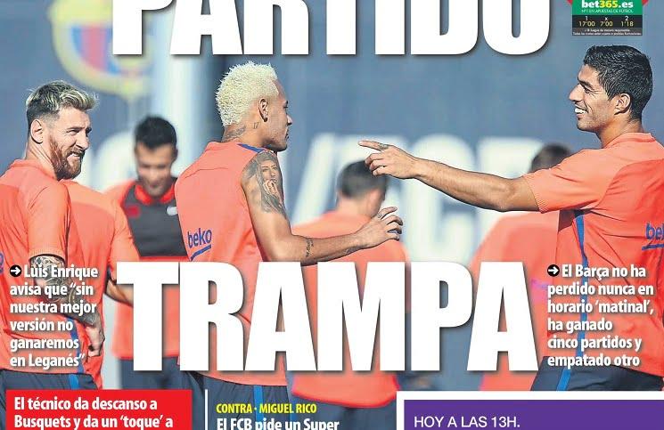 mundo 3 - أبرز عناوين صحف اسبانيا الصادرة اليوم السبت 17-9-2016