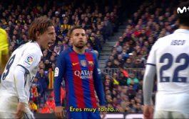 التلفزيون الاسباني .. نجم برشلونة يسُب نجم الريال في الكلاسيكو