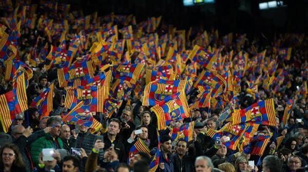 39261 a - جماهير برشلونة تستقبل أخبار سارة من صحيفة سبورت