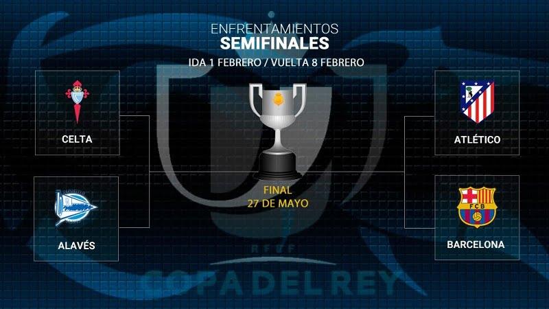 copadelrey - عاجل: قمة نارية بين اتلتيكو مدريد وبرشلونة في نصف نهائي كأس ملك إسبانيا