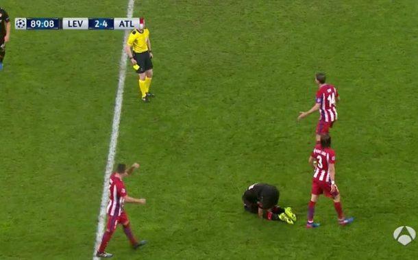 أتليتكو مدريد يفقد نجميه امام ليفركوزن