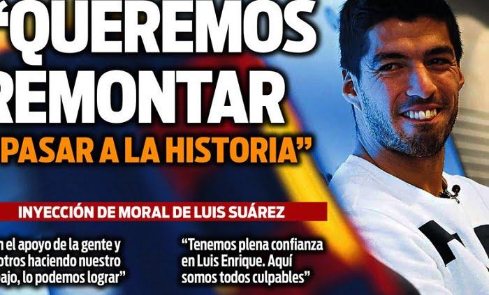 sport 1 - أبرز عناوين صحف اسبانيا الصادرة اليوم السبت 18-2-2017