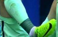 عاجل: فيدال يتعرض لإصابة خطيرة في مباراة الافيس وبرشلونة (فيديو)