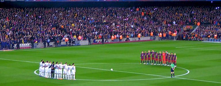 الكلاسيكو ريال مدريد وبرشلونة اليوم 768x300 - ابتعاد برشلونة وتوهج بالوتيلي وقفزة لبنان في أبرز 10 أرقام بالأسبوع الماضي