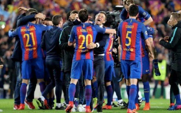 بالصور .. تسريب قميص برشلونة الثاني للموسم الجديد