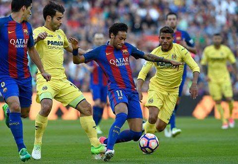 اهداف مباراة برشلونة وفياريال 4-1 في الدوري الاسباني