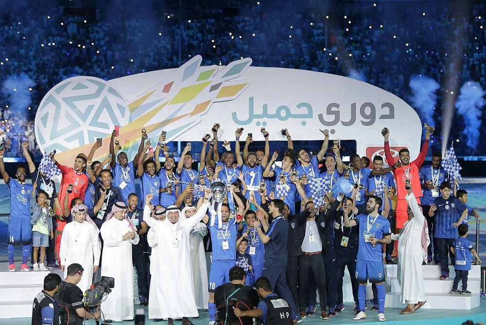 الاتحاد الدولي يبارك للهلال السعودي
