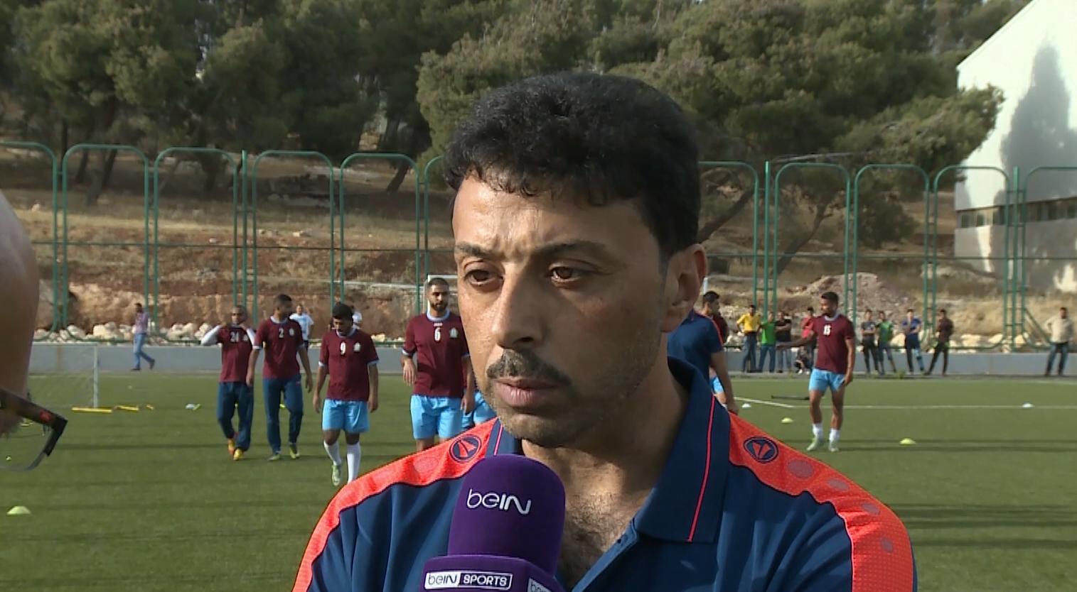 "jamal mahmoud - فيديو: أولى تصريحات مدرب الوحدات الجديد ""جمال محمود"""