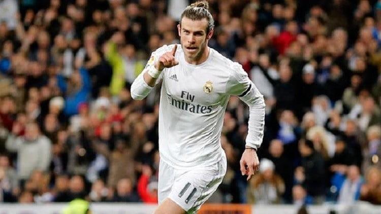 الهدف الأول لريال مدريد عن طريق جاريث بيل