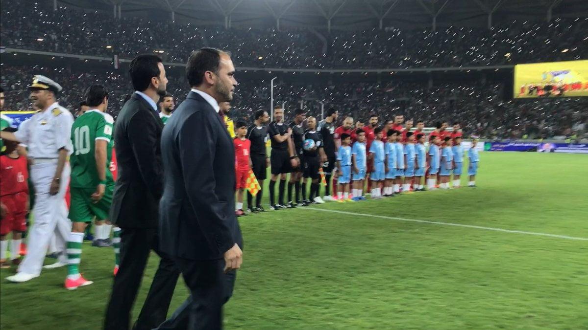 بالفيديو: ملعب البصرة الدولي يحتضن اولى مباريات المنتخب العراقي بعد رفع الحظر