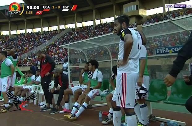 104175 egyptloss - بالفيديو: احمد حجازي يمنع محمد صلاح من تسجيل هدف التعادل