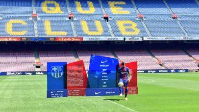 بالفيديو: لحظة تقديم لاعب برشلونة الجديد باولينيو في ملعب الكامب نو