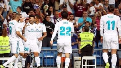 4 غيابات عن قائمة ريال مدريد أمام ليفانتي بالليغا