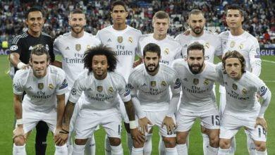 لاعب ريال مدريد ينتظر المباراة رقم 100 له في الليغا أمام ليفانتي