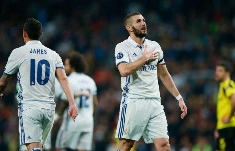 كريم بنزيما يحي جمهور ريال مدريد