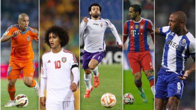 بالفيديو: افضل اللاعبين العرب