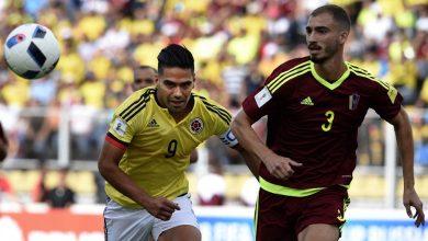 كولومبيا تفشل في عبور فنزويلا