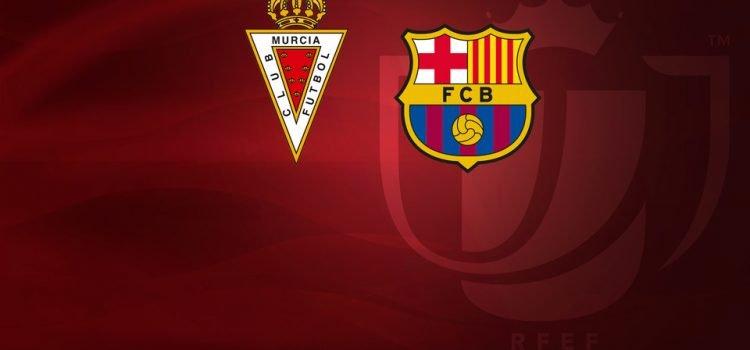 مورسيا و برشلونة - توقيت والقنوات الناقلة لمباراة ريال مورسيا و برشلونة
