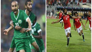 المنتخب السعودي يستقبل المنتخب المصري وديا