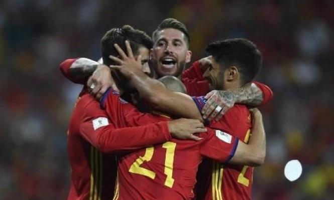 1 130 - الكشف عن تشكيلة المنتخب الإسباني أمام ألبانيا بتصفيات المونديال
