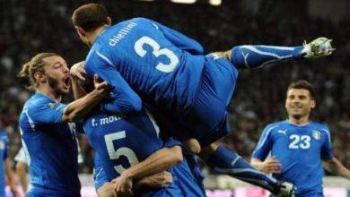 بالفيديو.. إيطاليا تحجز مقعدها بالملحق المؤهل للمونديال بالتعادل مع مقدونيا