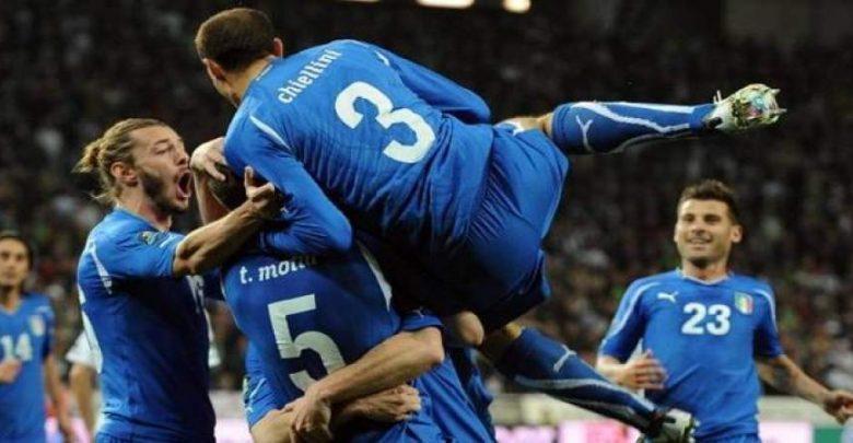 1 140 780x405 - بالفيديو.. إيطاليا تحجز مقعدها بالملحق المؤهل للمونديال بالتعادل مع مقدونيا