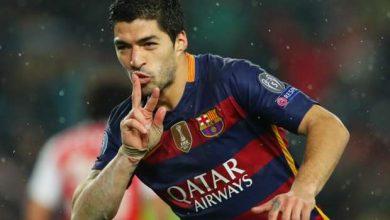 برشلونة يخضع لأوروجواي بشأن لويس سواريز