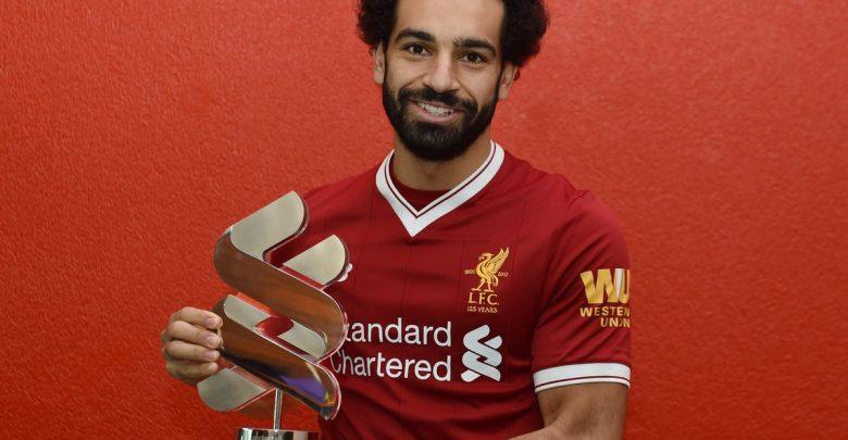 1 225 780x405 - محمد صلاح يتسلم جائزة أفضل لاعب في الشهر مع ليفربول