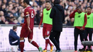الكشف عن تقييم لاعبي ليفربول بعد الهزيمة من توتنهام برباعية