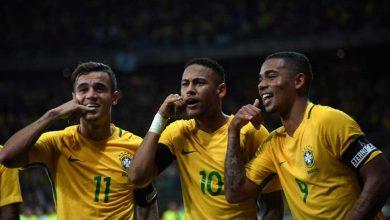 تشكيل ناري للمنتخب البرازيلي أمام بوليفيا في تصفيات مونديال روسيا