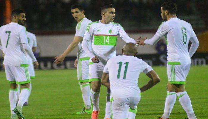 1 8 - الكشف عن تشكيلة المنتخب الجزائري أمام الكاميرون بتصفيات المونديال