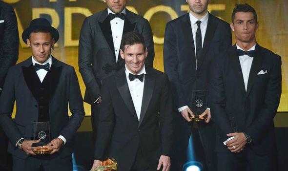 Neymar Ronaldo Messi Ballon d Or 1093058 - خطة نيمار للتغلب على ميسي و رونالدو بالفوز بالكرة الذهبية