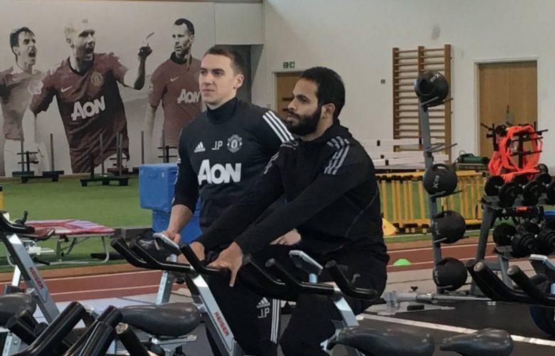 780x500 - احمد الفريدي يستمر بالتدريب في مانشستر يونايتد