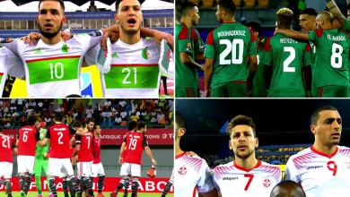 5 سيناريوهات تحسم تأهل عملاقي أفريقيا العرب إلى مونديال روسيا