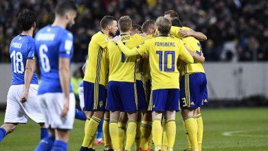 السويد تهدد حلم إيطاليا نحو المونديال بهدف يوهانسون