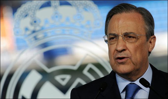 Florentino Perez 822960a - إنضمام هذا النجم إلى ريال مدريد يُكلف بيريز 600 مليون لـ 5 مواسم