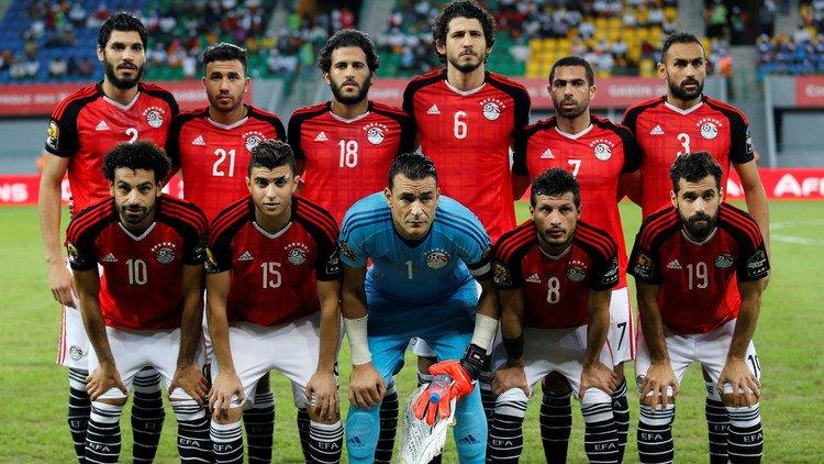 مصر - الكشف عن ألوان زي منتخب مصر في مباريات المونديال بدور الـ32