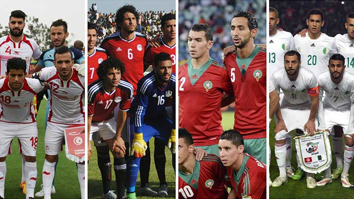 المنتخبات العربية