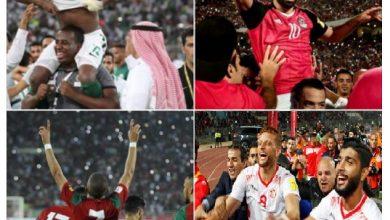 تعرف على المنتخبات التي قد يواجهها العرب في دور الـ16 بمونديال روسيا