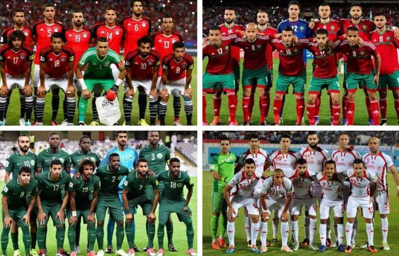 1 6 780x500 - تعرف على مواعيد مباريات المنتخبات العربية بمونديال روسيا