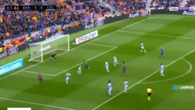 فيديو   اهداف مباراة برشلونة و سيلتا فيجو المُثيرة كاملة