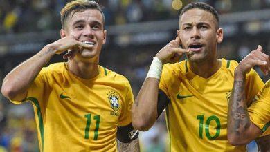 صورة ميسي نادم على عدم تواجد النجم البرازيلي في مباراة روما