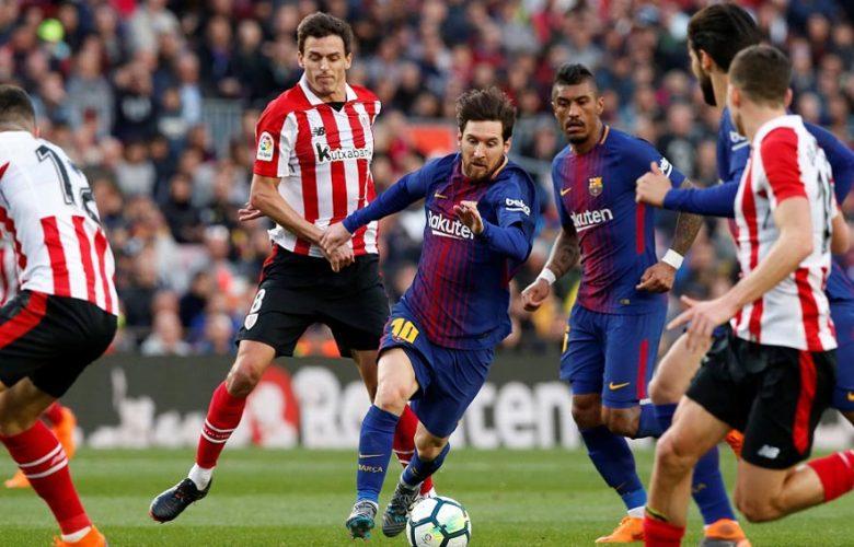ميسي في مباراة برشلونة و اشبيلية