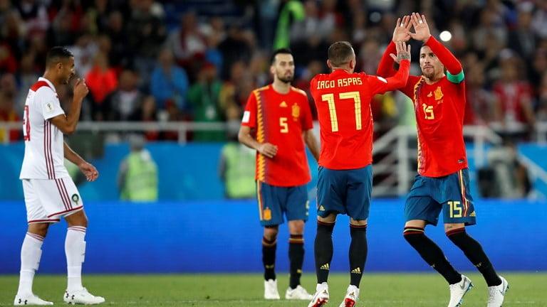 اسبانيا و المغرب