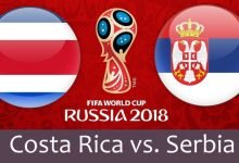 كوستاريكا و صربيا