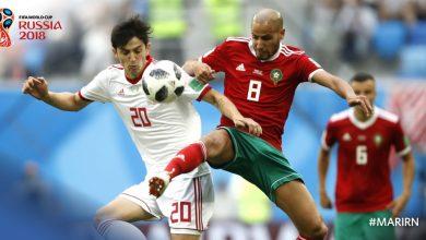 المغرب و ايران