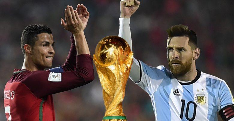 كأس العالم 2018 - ميسي و كريستيانو رونالدو