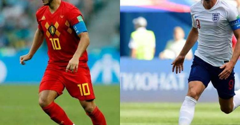 بلجيكا و انجلترا