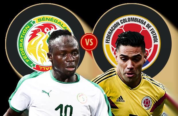 كولومبيا و السنغال