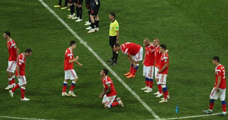 لاعبي روسيا